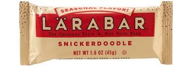 snickerdoodle larabar